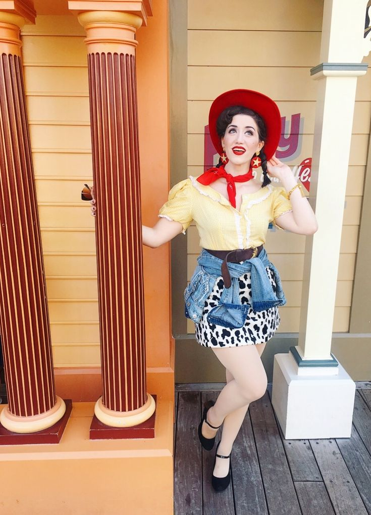 Woody/Jessie Toy Story inspired Disneybound Disneyland