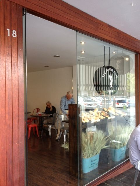 The Portuguese Bakery at Gymea.  The best Portuguese Tarts around.
