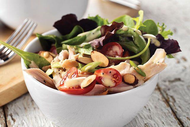 Garden-Fresh Turkey Salad with Dijon-Poppy Seed Dressing - Kraft ...