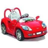 FERNBEDIENBARES MP3 Cabriolet Elektro Kinder Auto Elektroauto Kinderauto ROT