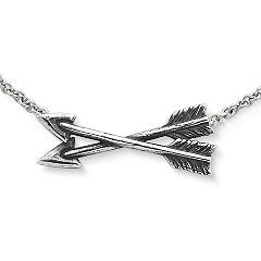Crossed Paths Necklace at James Avery
