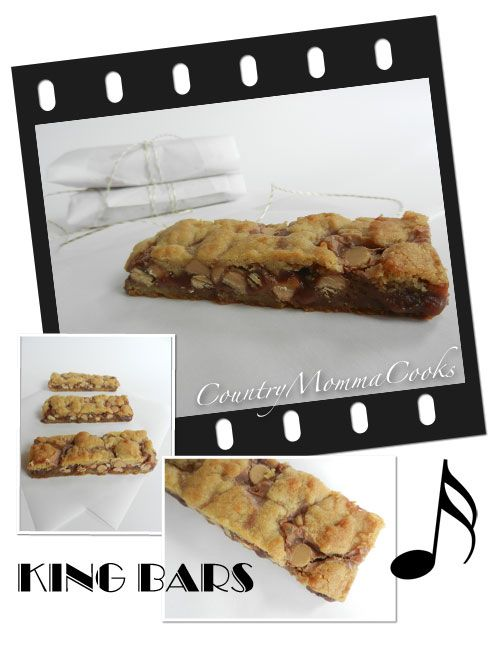 King Bars...inspired by Elvis! Banana, Nutella and Peanut butter ...