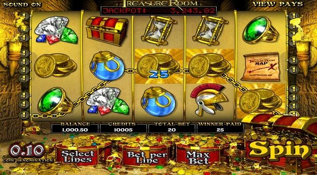 Treasure Room Slots Machine Review