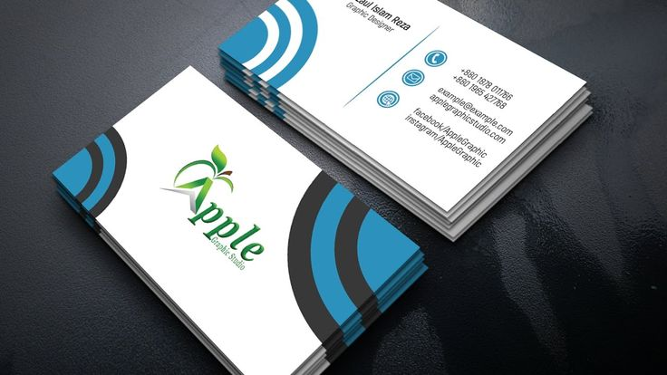 The 84 best business card images on pinterest cool professional business card design in photoshop colourmoves