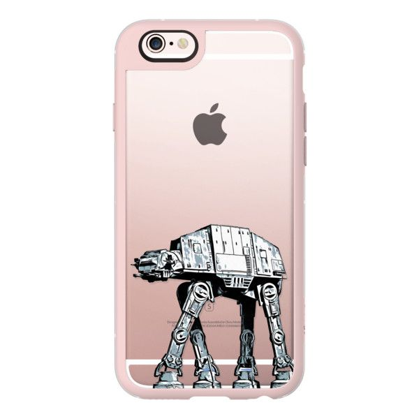 iPhone 6 Plus/6/5/5s/5c Case - At-At or Imperial Walker Star Wars... ($40) ❤ liked on Polyvore featuring accessories, tech accessories, iphone case, transparent iphone case, iphone cover case, iphone hard cases and apple iphone cases