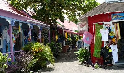 Browse the colourful chattel village in St.Lawrence Gap on the south coast of Barbados.