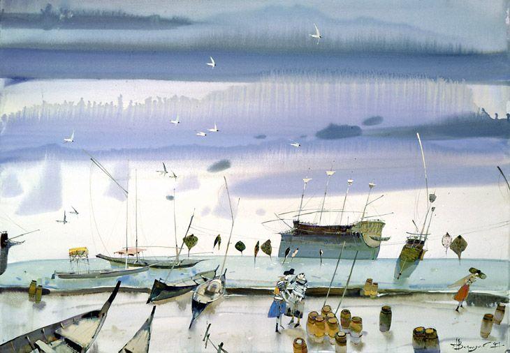 Another one from Fiona Naughton. Alexander Votsmush, waterclour maestro