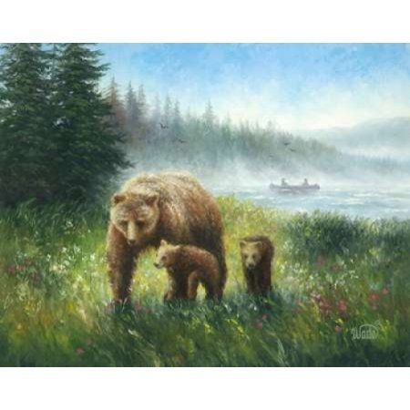 Bear Country Canvas Art - Vickie Wade (24 x 30)