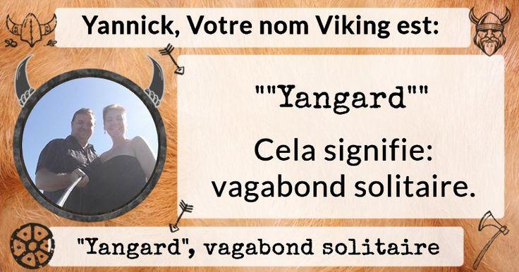 Quel est votre nom viking ?
