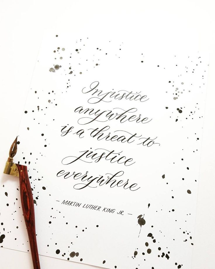 """""""Paper Trails Design Co. offers custom calligraphy services, hand-printed cards and art prints."""" Click the picture to read more!"""