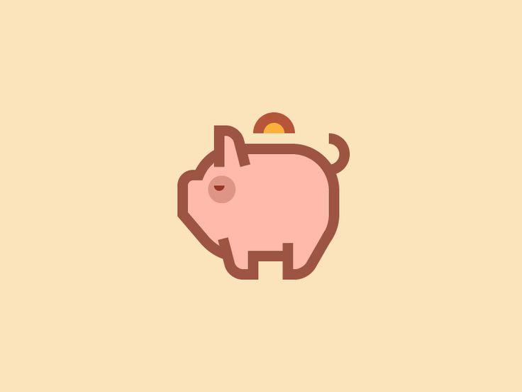 Piggy bank icon /2/