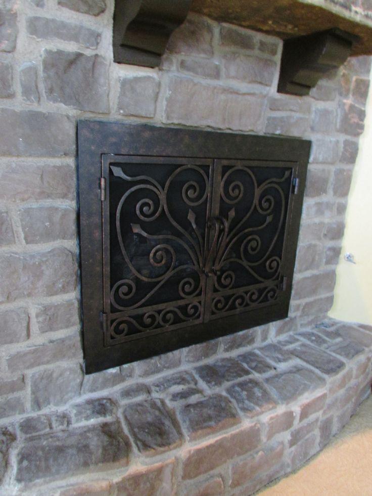 Fireplace Door fireplace door guy : 16 best images about Rectangular Fireplace Doors on Pinterest ...