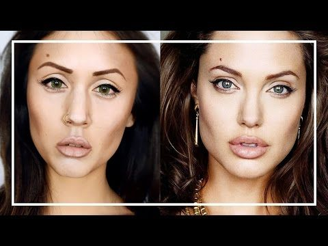 Makeup transformation in Angelina Jolie - VideoTrucco