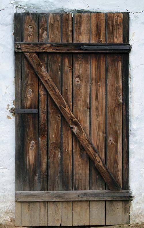 Как сделать крестьянскую дверь