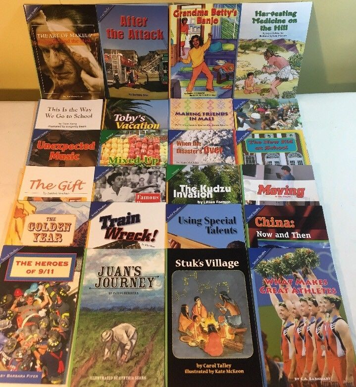 Scott Foresman Readers Advanced Grade 5 Lot Of 24 Social