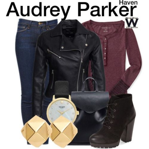 Wear What You Watch • Inspired by Emily Rose as Audrey Parker on Haven -...