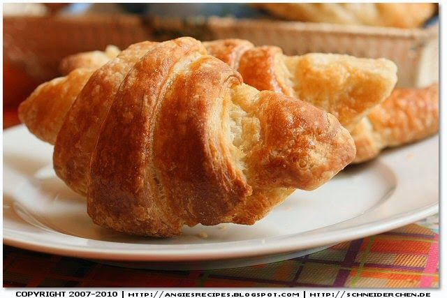 Angie's Recipes . Taste Of Home: Spelt Croissants