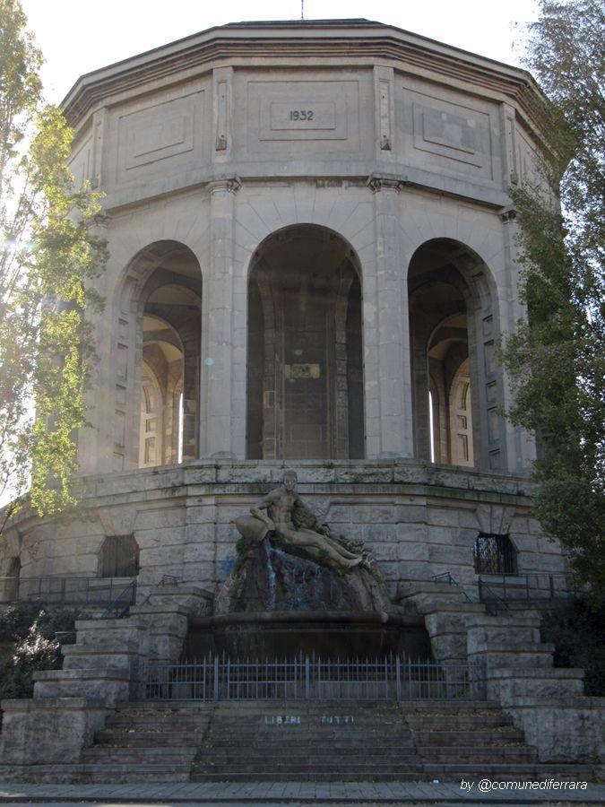 Il Serbatoio monumentale dell'Acquedotto - #Ferrara