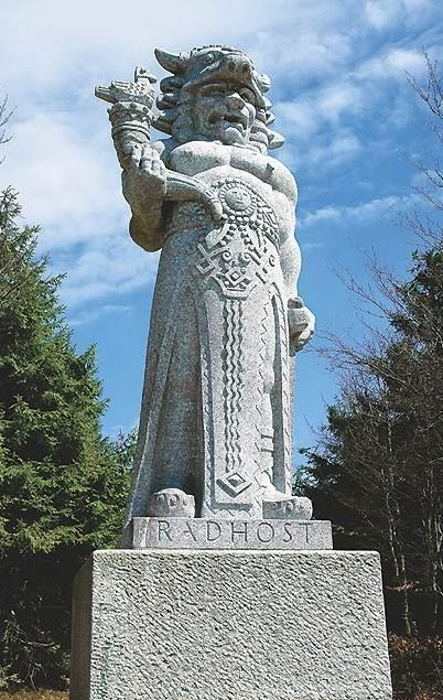 In the Czech mythology, Radegast is the God of hospitality and mutuality. According to the legend, he is credited for the creation of beer.