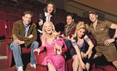 Legally Blonde on Broadway - A Birthday Treat