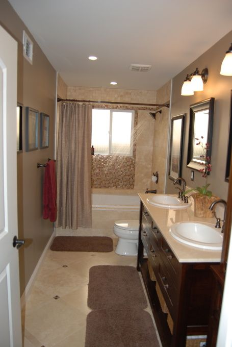 11 best images about guest bathroom on pinterest toilets for Guest bathroom remodel ideas