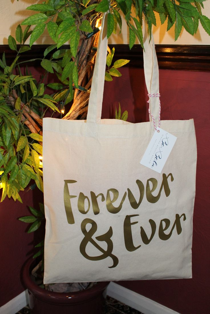 Here is our personalised Large Canvas Tote bag, it is a perfect gift for bridesmaids, your friends and family or even yourself. A beautifully simple design which is also eco friendly.   Made from Natural Cotton