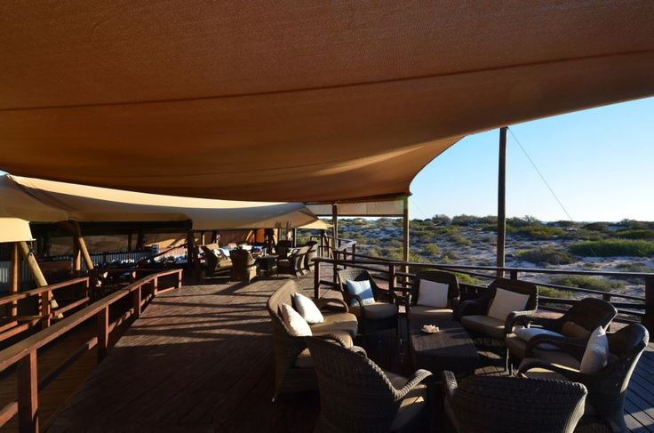 Lounge at Sal Salis - Ningaloo Reef, Australia