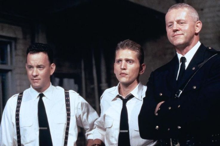 Tom Hanks , Barry Pepper and David Morse in The Green Mile