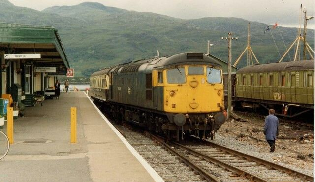 Kyle of Lochalsh Station (1984) pic Rob Newman
