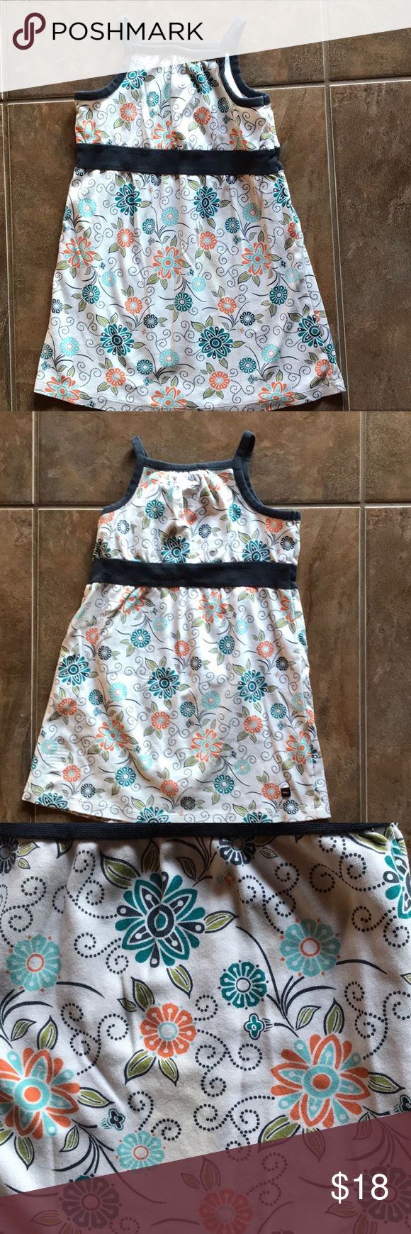 Girl's Tea sundress Adorable Tea sundress with great colors. Floral pattern. Clean. No spots or stains tea Dresses Casual