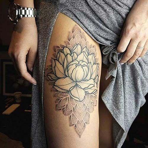 Tattoo Designs Upper Leg: 25+ Best Ideas About Women Leg Tattoos On Pinterest