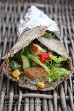 Különleges tortilla – gluténmentes recept az egészségtudatosság jegyében A sima tortillához képest jóval laktatóbb, ám alacsonyabb szénhidrát tartalommal rendelkezik! Szuper recept akár iskolai tízórainak, vagy vacsorának egyaránt.
