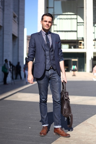 NYFW Men's Style #NYFW #MBFW