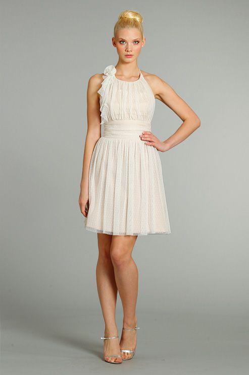 Summery bridesmaid's dress from Alvina Valenta, Fall 2012