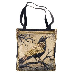 Clockwork Crow Tote