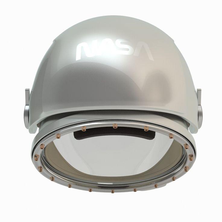 3dsmax astronaut helmet