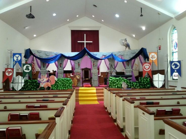 Over The Moat Vbs Crafts Diy