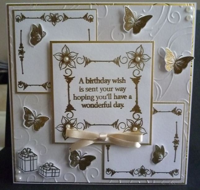 All Honeydoo Crafts Stamps from the sentiment to the butterflies.