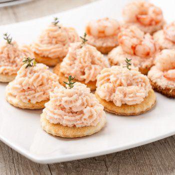 Blinis et mousse de crabe recette pas chère