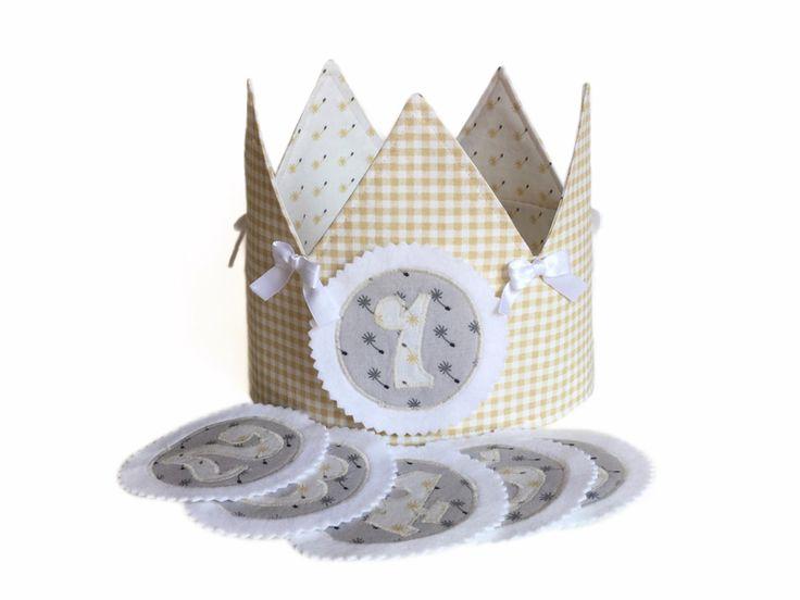 Corone - Corona per il compleanno con numeri - un prodotto unico di LutteLuud su DaWanda