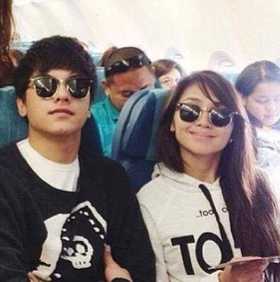 <3 KathNiel <3 Kathryn Bernardo and Daniel Padilla made a cute couple <3 #Vilueink #KathNiel