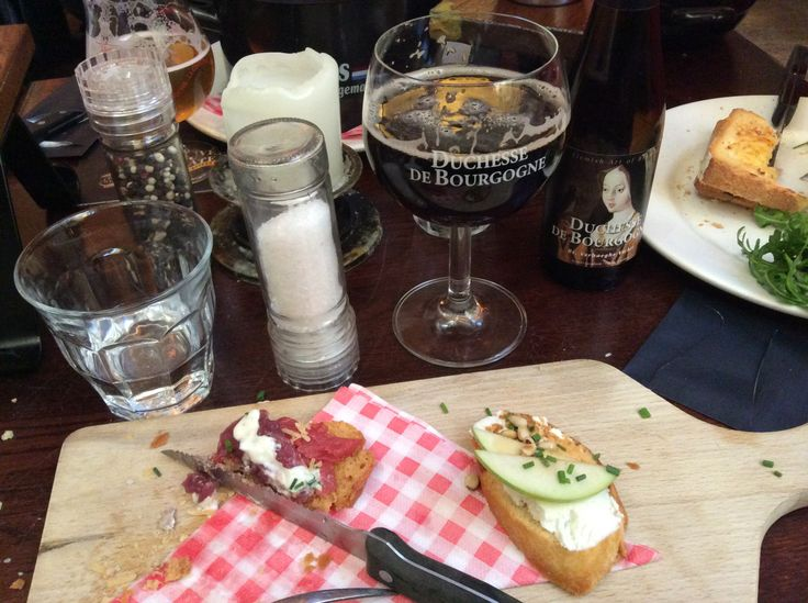 Lunch at the Beer Cafe