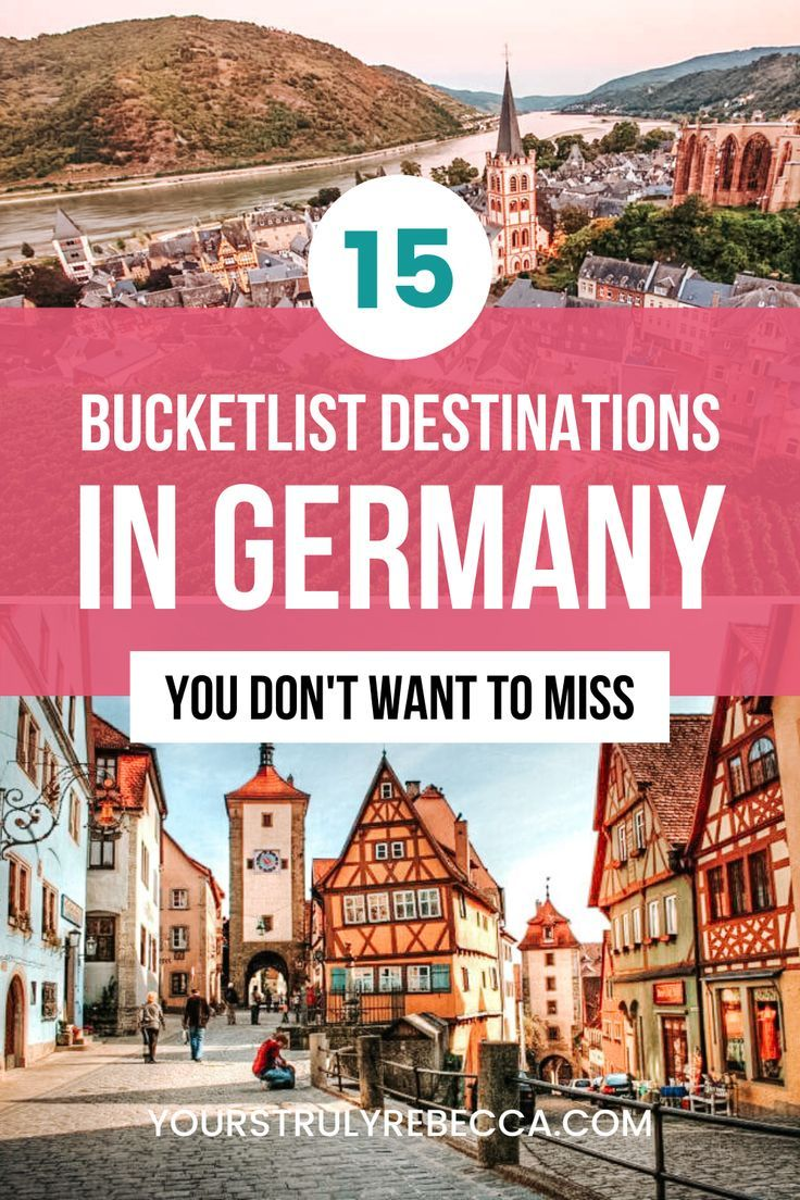 20 Epic Germany Bucket List Destinations   Yours Truly Rebecca ...