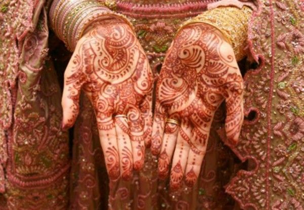 #DesiIs having a beautiful mehendi on your palms