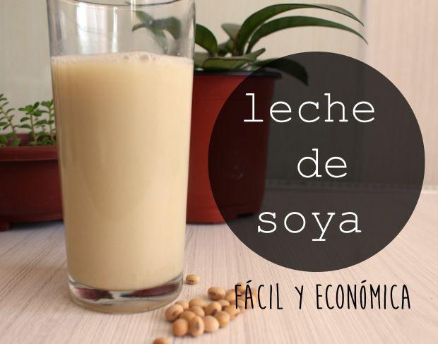 Cómo hacer leche de soya