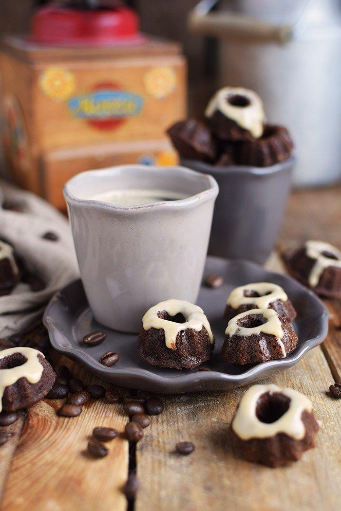 Mokka Mini Gugl Mocha Mini Bundt Cakes Rezept | Das Knusperstübchen