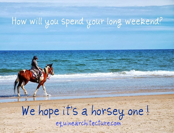 How will you spend your long weekend?
