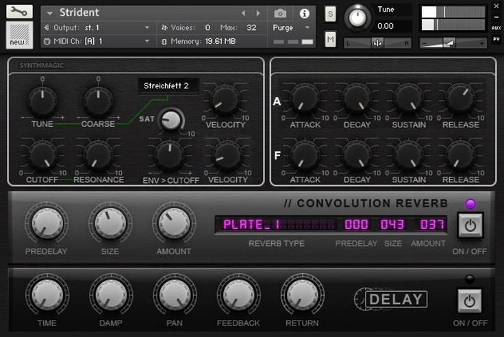 Synth Magic has announced the release of StrettEVS,a free collection of multi-sampled hardware synthesizer patches for Native Instruments Kontakt. The library is based on a collection of sounds sampled from three different synthesizers:Evolution EVS1,Waldorf Streichfett, andKorg DSS-1. The samples are provided in Kontakt'sproprietary NCW file format, meaning that you can't use any other sampler toRead More
