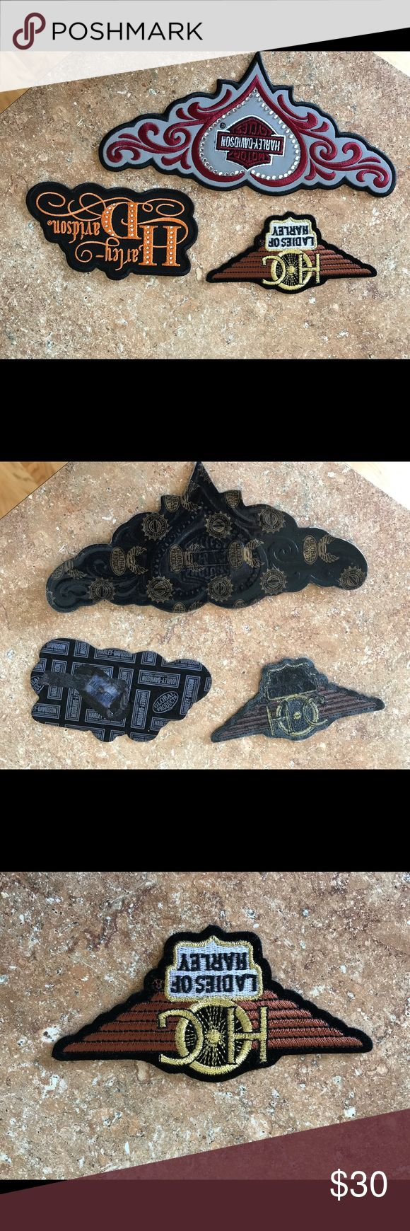 One Harley Davidson Patches,  new- only one patch One Harley Davidson Patches, brand new- this is for only one Harley Davidson patch! Harley-Davidson Accessories Hair Accessories