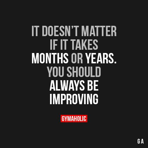 It Doesn't Matter If It Takes Months Or Years.